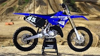 1. 2016 Yamaha YZ125 2 stroke ||Shaken not Stirred|| Motocross Action Magazine