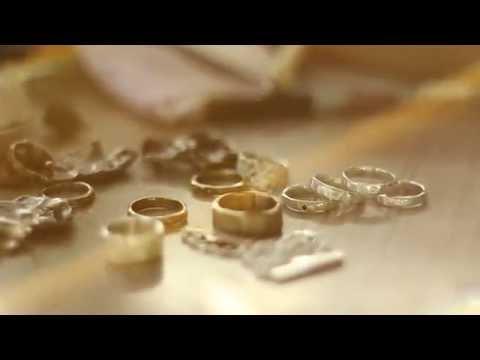 Sophie Divett Jewellery - The Making of - Bark rings.