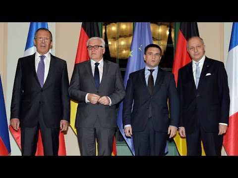 RAW: 'Normandy 4' FMs meet in Paris for Ukraine...