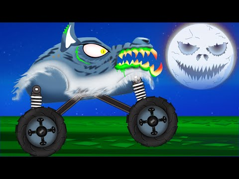 Scary Monster Truck | Monster Truck Stunts
