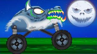 Video Scary Monster Truck | Monster Truck Stunts MP3, 3GP, MP4, WEBM, AVI, FLV Juni 2018