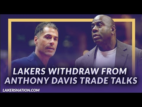 Video: Lakers News: Lakers Withdraw from Anthony Davis Trade Talks Amid 'Outrageous' Requests by Pelicans