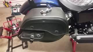 9. 2013 Harley-Davidson Dyna Street Bob Motorcycle Saddlebags Review - vikingbags.com