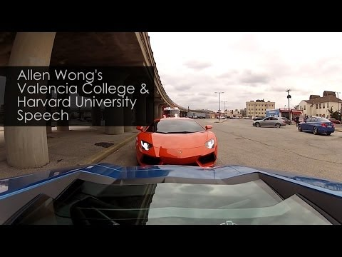 How to Get a Lamborghini: Allen Wong's Story