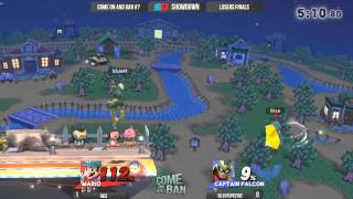 SilentSpectre (Falcon) vs. Rice (Mario): Combos galore!