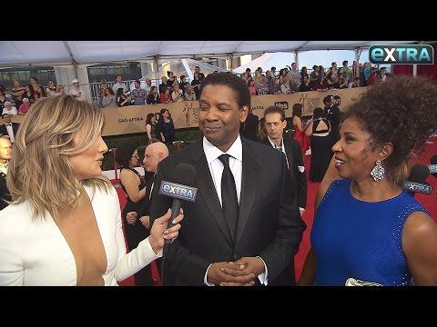 Denzel Washington Praises Wife at SAG Awards: 'I Got a Good Woman'
