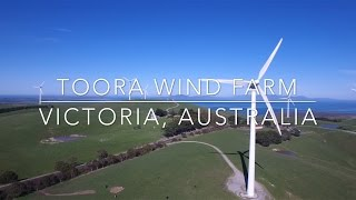 Toora Australia  city photos gallery : Our World by Drone - Toora Wind Farm, Victoria, Australia