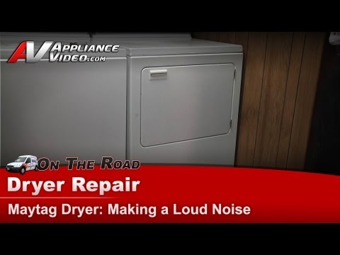Maytag Dryer Repair – Making loud noises – LDE5910ACW