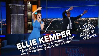 Ellie Kemper Performs A Ballad Inspired By Her Baby's Toy