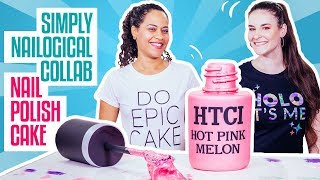 Video How To Make A NAIL POLISH BOTTLE CAKE | SIMPLY NAILOGICAL & Yolanda Gampp | How To Cake It MP3, 3GP, MP4, WEBM, AVI, FLV Desember 2018
