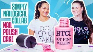 Video How To Make A NAIL POLISH BOTTLE CAKE | SIMPLY NAILOGICAL & Yolanda Gampp | How To Cake It MP3, 3GP, MP4, WEBM, AVI, FLV September 2018