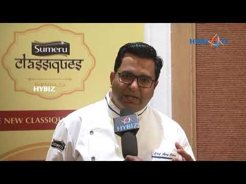 , Chef Ajay Chopra Sumeru frozen Parathas Launch