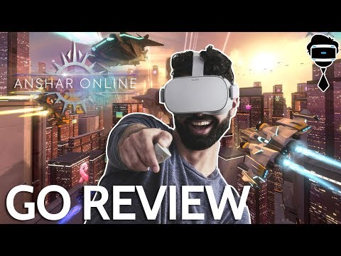 Anshar Online Oculus GO Review | VR Multiplayer Space Action on the Oculus Go