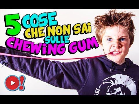 5 cose che forse non sai sul chewing gum!