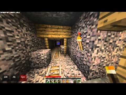 MineCraft BETA 1.8.1: A bánya (1. rész)