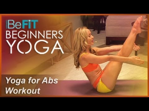 Yoga for Abs Workout: BeFiT Beginners Yoga- Kino MacGregor