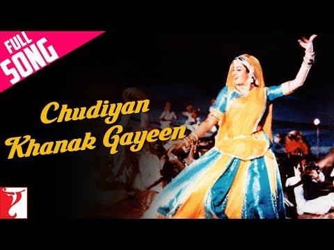 Video Chudiyan Khanak Gayeen - Full Song   Lamhe   Anil Kapoor   Sridevi   Ila Arun   Lata Mangeshkar download in MP3, 3GP, MP4, WEBM, AVI, FLV January 2017