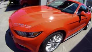 Ford Mustang v Ljutomeru