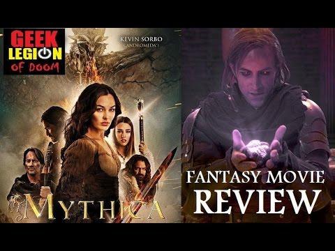 MYTHICA : THE DARKSPORE  ( 2015 Kevin Sorbo ) Fantasy Movie Review
