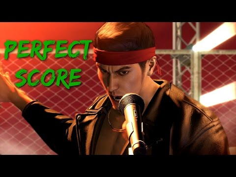 Yakuza 0 - Karaoke - Judgement Perfect Score