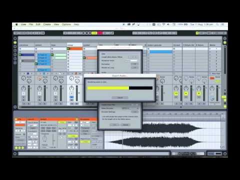 Tutorial - Exporting set from Ableton Live for Takete