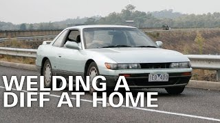 Welding an S13 Diff at Home