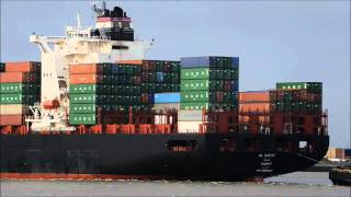 Video shipspotting Rotterdam 22-01-2011, MSC Sonia, Osprey MP3, 3GP, MP4, WEBM, AVI, FLV Desember 2018