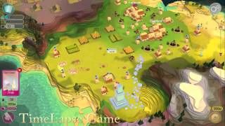 Godus 2.1. 24 part. Unlimited belief, wheat and gems (TimeLapse Game)