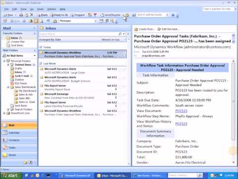 Microsoft Dynamics GP: Purchasing Approval Process