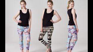 How to Make Leggings   Teach Me Fashion - YouTube