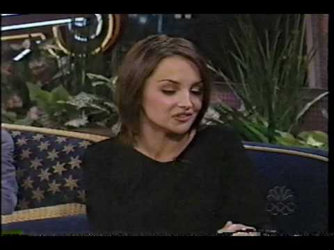 Rachael Leigh Cook - Tonight Show 1999 , First appearance
