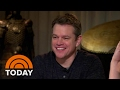 Matt Damon: I Insisted Casey Affleck Take 'Manchester By The Sea' Role   TODAY