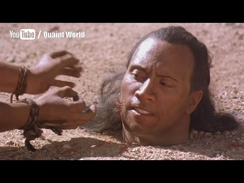 Dwayne Johnson (The Rock) stuck between poisonous ants | The Scorpion King Movie Scene