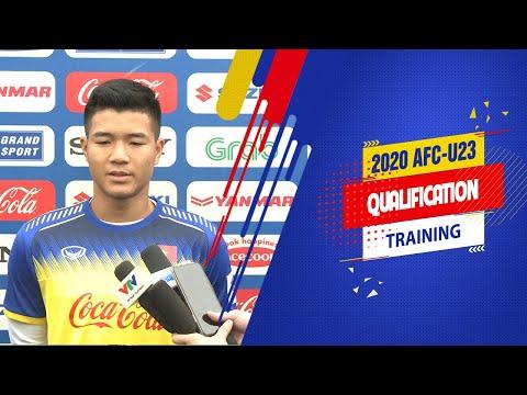 Hà Đức Chinh: Người hâm mộ là niềm khích lệ để bọn em đạt kết quả tốt nhất | VFF Channel - Thời lượng: 3 phút, 9 giây.