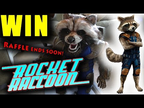 Rocket Raccoon RAFFLE