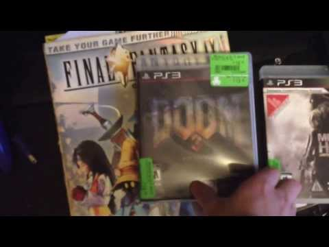 Playstation 3 pick ups / gifted guide books