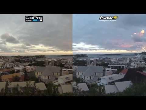 ISAW A3 EXtreme vs GoPro Hero 3 black vergelijking / comparisation