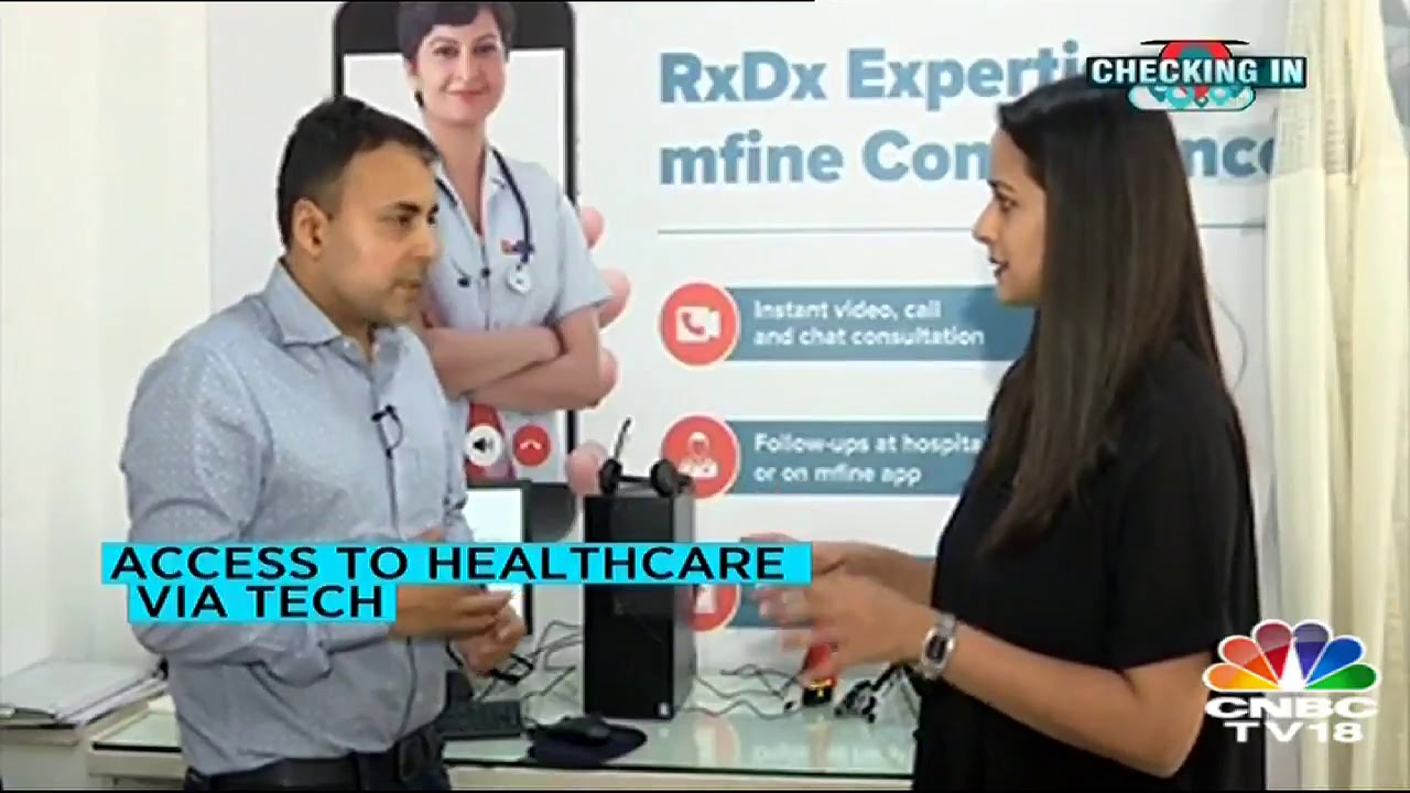 mfine Launches 'Remote Clinics' to Enhance Quality Healthcare Using Technology