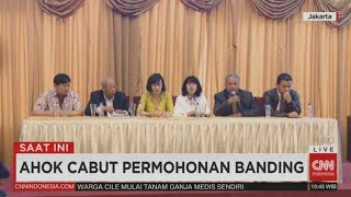 Video FULL Breaking News! Ahok Batal Banding MP3, 3GP, MP4, WEBM, AVI, FLV Mei 2017