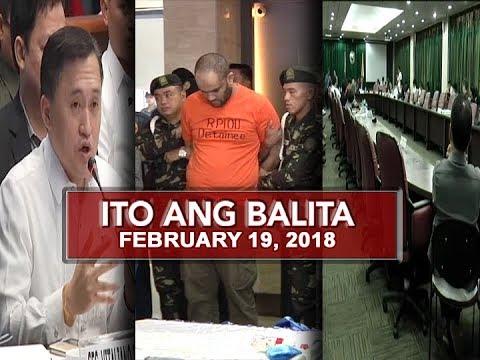 UNTV: Ito Ang Balita (February 19, 2018)