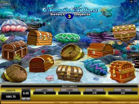 Mermaids Millions - community slot od Microgaming