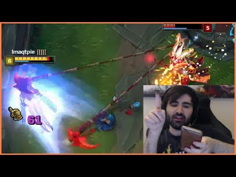 Imaqtpie Can't Dodge The Hook? | Voyboy Calculated Dive | Bard Quadrakill - Best of LoL Streams #86 (видео)