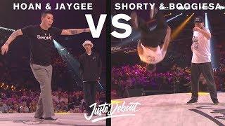 Hoan & Jaygee vs Shorty & Boogiesa – Juste Debout 2017 POPPING SEMI FINAL