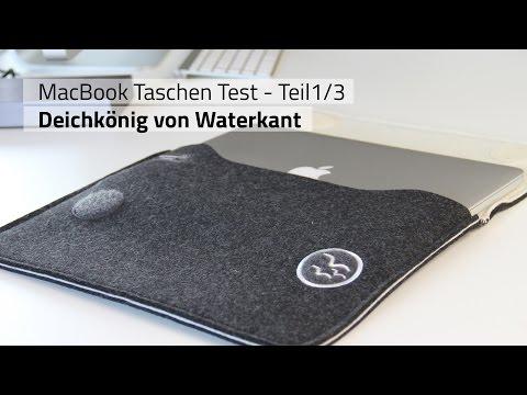 MacBook Taschen Test 1/3: Deichkönig von Waterkant