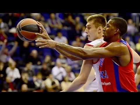 Highlights: CSKA Moscow-Cedevita Zagreb