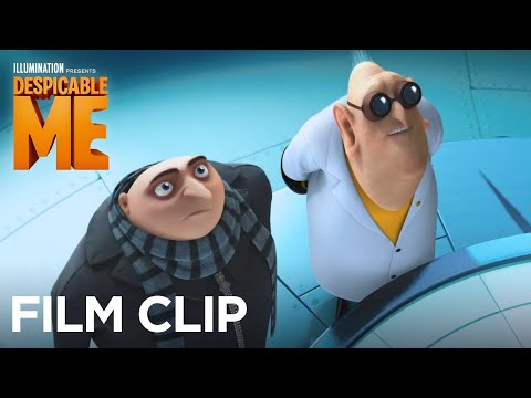 Despicable Me Clip 'Dr. Nefario Shows Gru Two New Inventions'