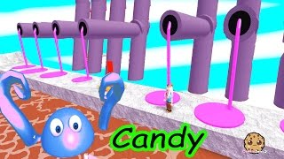 Candy Monsters!! Roblox Video Game Cookieswirlc Let's Play Candy Land Obby