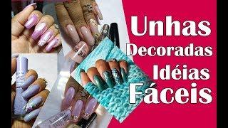 Aulas de manicure - UNHAS DECORADAS FÁCEIS