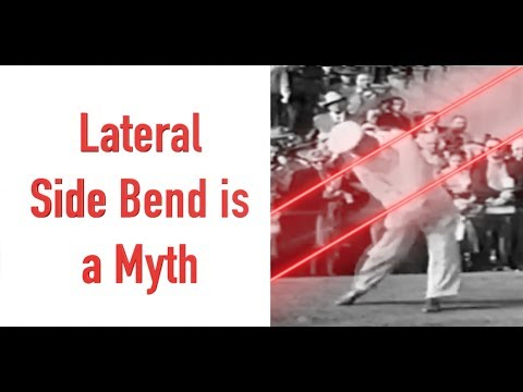 LATERAL SIDE BEND IS A MYTH!!!