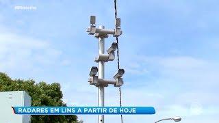 Novos radares em Lins